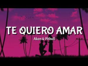 Akon Te Quiero Amar ft Pitbull
